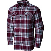 Columbia Men's Texas A&M Aggies Maroon Plaid Flare Gun Flannel Long Sleeve Shirt