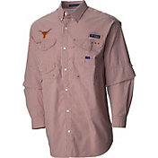 Columbia Men's Texas Longhorns Burnt Orange Super Bonehead Long Sleeve Shirt