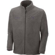 Columbia Men's Washington Huskies Grey Flanker II Full-Zip Fleece Jacket