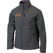 Columbia Men's Iowa State Cyclones Grey Ascender Jacket
