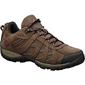Columbia Men's Redmond Leather Omni-Tech Waterproof Hiking Shoes