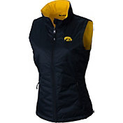 Columbia Women's Iowa Hawkeyes Reversible Powder Puff Black Vest