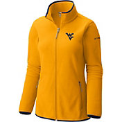 Columbia Women's West Virginia Mountaineers Gold Fuller Ridge Fleece Jacket
