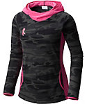 Columbia Women's Tested Tough In Pink Fleece Hoodie