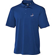 Cutter & Buck Men's Los Angeles Dodgers Royal Genre DryTec Performance Polo