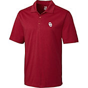 Cutter & Buck Men's Oklahoma Sooners Crimson DryTec Performance Polo