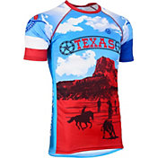 Canari Men's Retro Texas Tech Cycling Jersey
