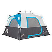 Coleman Instant Cabin With Mini-Fly 4 Person Tent