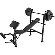 Competitor OPP Bench and 80 lb. Weight Set