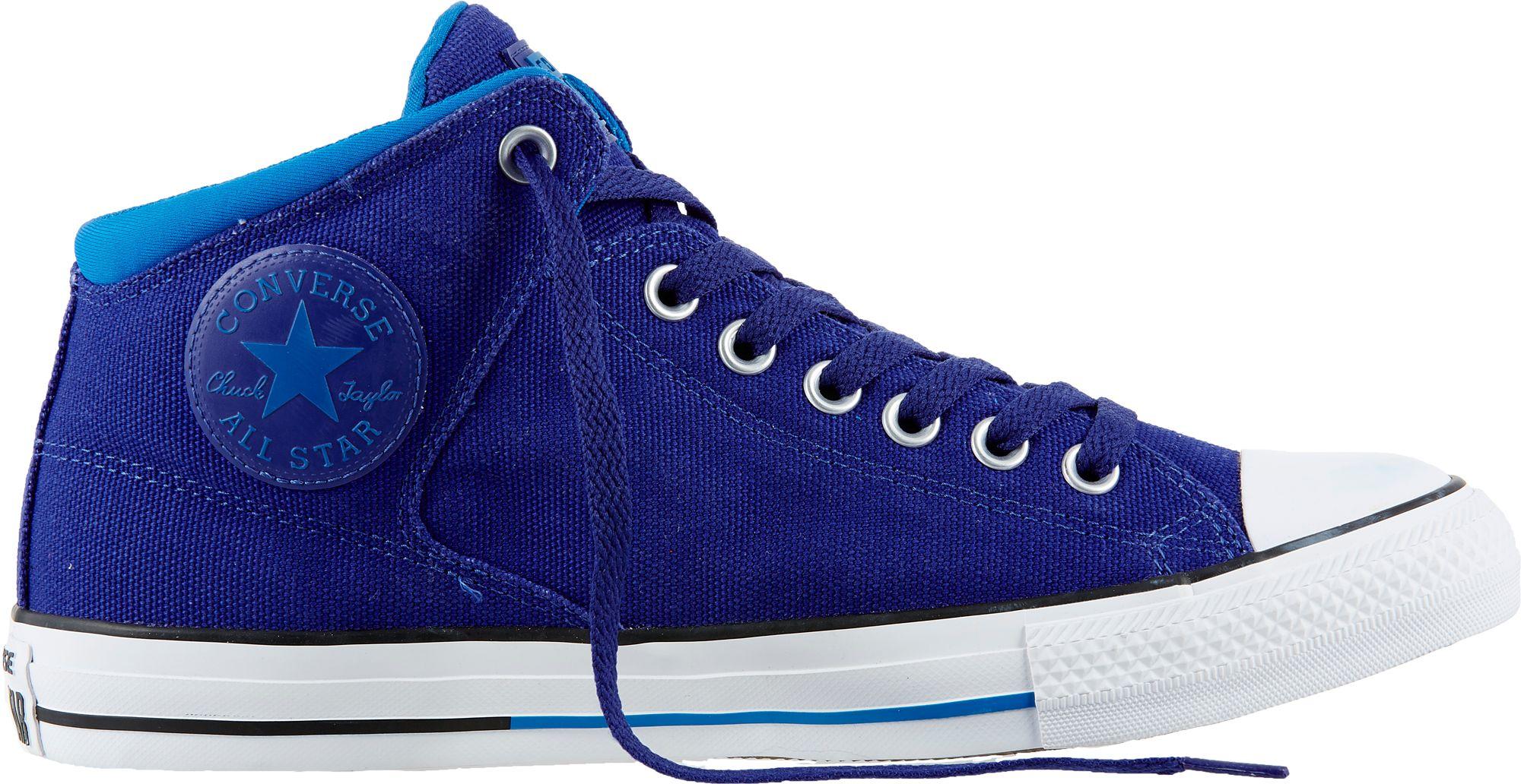 0b71ff541ab Converse Mens Chuck Taylor All Star High Street Hi Top Casual Shoes DICKS  Sporting Goods 85%OFF