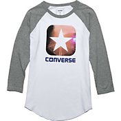 Converse Women's Box Star Long Sleeve Raglan T-Shirt