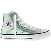 Converse Kids' Preschool Chuck Taylor All Star Metallic High-Top Casual Shoes