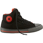 Converse Kids' Grade School Chuck Taylor All Star High Street Shield Hi-Top Casual Shoes