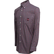 Campus Specialties Men's South Carolina Gamecocks Multi-Checkered Woven Long Sleeve Shirt