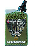 Crosman .20G Biodegradable Airsoft BBs - 2000 Count