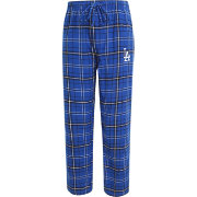Concepts Sport Men's Los Angeles Dodgers Royal/Black Plaid Flannel Pajama Pants
