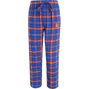 Concepts Sport Men's New York Mets Royal/Orange Plaid Flannel Pajama Pants