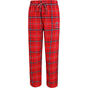 Concepts Sport Men's Los Angeles Angels Red/Navy Plaid Flannel Pajama Pants