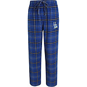 Concepts Sport Men's Delaware Fightin' Blue Hens Blue/Black Ultimate Plaid Sleep Pants