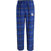 Concepts Sport Men's Kentucky Wildcats Blue/Black Ultimate Plaid Sleep Pants
