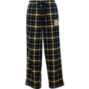 Concepts Sport Men's Notre Dame Fighting Irish Navy/Gold Ultimate Plaid Sleep Pants