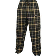 Concepts Sport Men's Vanderbilt Commodores Black/Gold Ultimate Plaid Sleep Pants