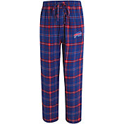 Concepts Sport Men's Buffalo Bills Ultimate Flannel Royal Pants