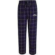 Concepts Sport Men's Baltimore Ravens Ultimate Flannel Purple Pants