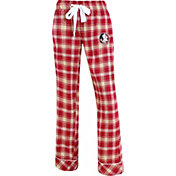 Concepts Sport Women's Florida State Seminoles Garnet/Gold Captivate Plaid Sleep Pants
