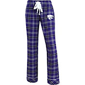 Concepts Sport Women's Kansas State Wildcats Purple/Black Captivate Plaid Sleep Pants