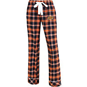 Concepts Sport Women's Oklahoma State Cowboys Black/Orange Captivate Plaid Sleep Pants
