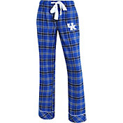 Concepts Sport Women's Kentucky Wildcats Blue/Black Captivate Plaid Sleep Pants
