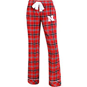 Concepts Sport Women's Nebraska Cornhuskers Scarlet/Black Captivate Plaid Sleep Pants