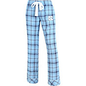 Concepts Sport Women's North Carolina Tar Heels Carolina Blue/Navy Captivate Plaid Sleep Pants