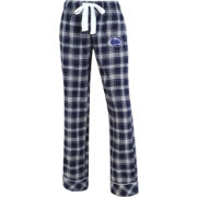 Concepts Sport Women's Penn State Nittany Lions Blue/Grey Captivate Plaid Sleep Pants