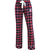 Concepts Sport Women's Arizona Wildcats Cardinal/Navy Captivate Plaid Sleep Pants