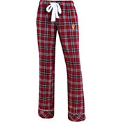Concepts Sport Women's Arizona State Sun Devils Maroon/Black Captivate Plaid Sleep Pants
