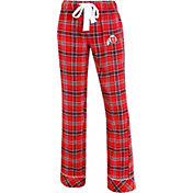 Concepts Sport Women's Utah Utes Crimson/Black Captivate Plaid Sleep Pants