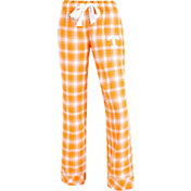 Concepts Sport Women's Tennessee Volunteers Tennessee Orange/White Captivate Plaid Sleep Pants
