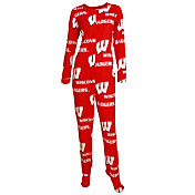Concepts Sport Women's Wisconsin Badgers Red Onesie