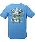 Carhartt Boys' Force Performance Live to Fish T-Shirt
