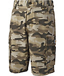 Carhartt Boys' Tan Camo Cargo Shorts