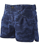 Carhartt Girls' Denim Camo Shorts