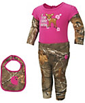 Carhartt Infant Realtree Xtra 3-Piece Pant/Bib Set