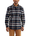 Carhartt Men's Hubbard Plaid Flannel Shirt