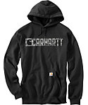 Carhartt Men's Graphic Block Logo Hoodie