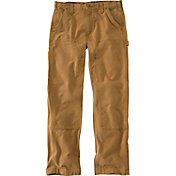 Carhartt Men's Weathered Duck Double Front Dungarees
