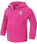 Carhartt Toddler Girls' Logo Zip Front Hoodie