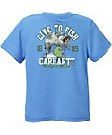 Carhartt Toddler Boys' Force Performance Live to Fish T-Shirt