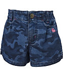 Carhartt Toddler Girls' Denim Camo Shorts